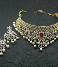 Buy american diamonds necklace-sets necklace-set online