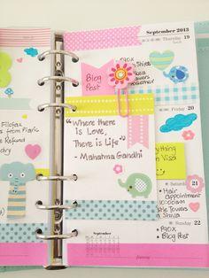 Coloursnme: This week in my Kikki-K Medium Time Planner Kikki Planner, Time Planner, Planner Pages, Happy Planner, Planner Stickers, Planner Ideas, Journal Inspiration, Ideas Para Organizar, Planner Decorating