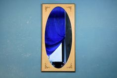 French Provincial Oval Full Length Mirror