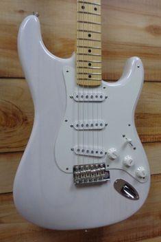 New Fender® American Original Stratocaster® White Blonde w/Case Telecaster Guitar, Fender Guitars, Taylor Guitars, Guitar Painting, Fender American, White Blonde, Marshalls, Electric Guitars, Les Paul