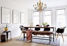 This amazing loft is located in the Majorstuen district of Oslo and its owners Kaja and David...