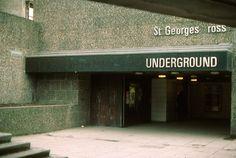 Glasgow subway, St Georges X station | Flickr - Photo Sharing!