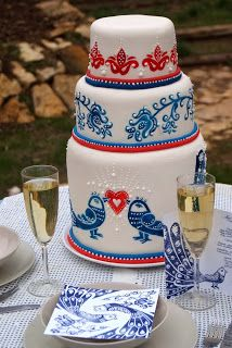 blue-bird wedding cake Wedding Cake Inspiration, Blue Bird, Wedding Cakes, Wedding Gown Cakes, Cake Wedding, Wedding Cake, Wedding Pies