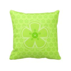 Little flower cushion pillow (225 DKK) ❤ liked on Polyvore featuring home, home decor and throw pillows