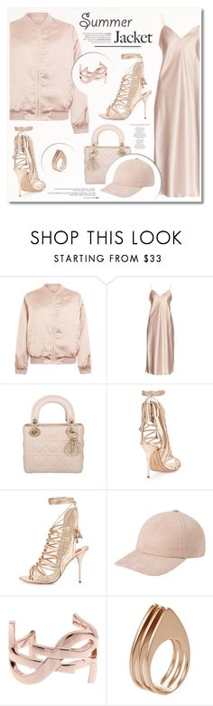 """""""Fancy+sporty"""" by ruska-10 ❤ liked on Polyvore featuring Cameo Rose, Yves Saint Laurent, Christian Dior, Sophia Webster, Anja and Ludevine"""