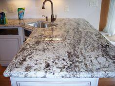 Delicatus white granite.