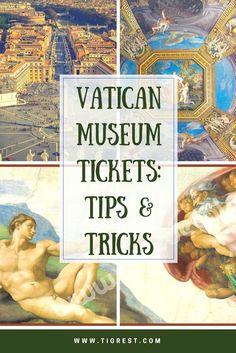 Where to buy Vatican Museum Tickets and not get scammed, TRAVEL, When it comes to Rome's best known attractions, nothing can beat the famous Vatican City with it's museums and cathedrals. In this article - Vatic. Italy Travel Tips, Rome Travel, Travel Europe, Budget Travel, Backpacking Europe, Rome Guide, Rome Tips, Top Europe Destinations, Vatican City