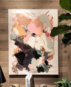 Spotted in the wild this photo was sent to me when my cousin came across my work at an aritzia store at Century City mall in LA Art Inspo, Painting Inspiration, Art And Illustration, Picasso Paintings, Abstract Paintings, Abstract Art, Art Diy, Art Design, Abstract Watercolor