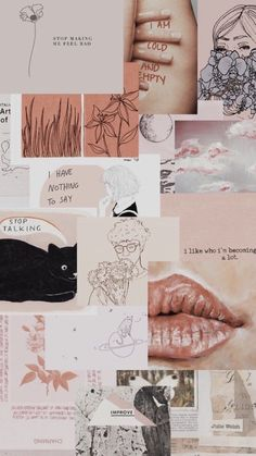 Read Collage Aesthetic from the story 𝐀𝐞𝐬𝐭𝐡𝐞𝐭𝐢𝐜 ⸙[✨] ✓ by naticaro__ (W A R) with reads. Tumblr Wallpaper, Screen Wallpaper, Wallpaper Backgrounds, Wallpaper Quotes, Cute Backgrounds For Iphone, Aesthetic Pastel Wallpaper, Aesthetic Backgrounds, Aesthetic Wallpapers, Aesthetic Collage