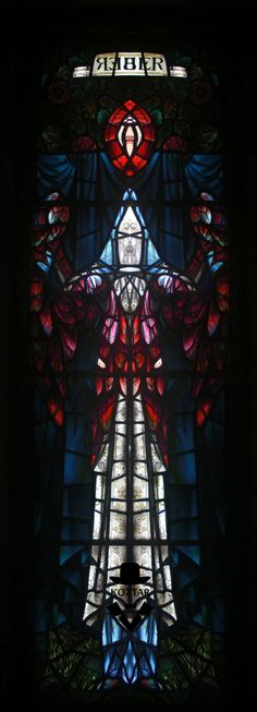 Rochdale Unitarian Church Liberty rorschach stained glass Art Print by KoZtar | Society6 via PinCG.com
