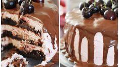 Very cherry chocolate cake - i repris