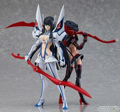 From the popular anime series 'KILL la KILL' comes a rerelease of the figma of Honnouji Academy's student council president, Satsuki Kiryuin! Using the smooth yet posable joints of figma, you can act . Satsuki Kiryuin, Action Figures, Anime Collectibles, Satsuki, Anime Store, Anime Figures, Figma, Anime, Anime Figurines