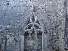 Kilfenora Abbey, County Clare, Ireland - Franciscan Friars Order - c. 12th century