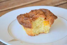 Muffins de Nectarina com Crumble (Nectarine Crumble Muffins)