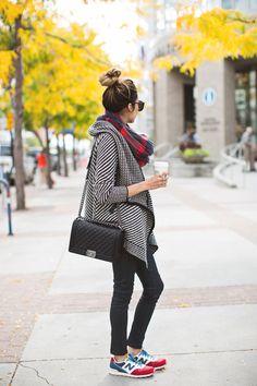Pinterest #scarves,  #street,  sneaker