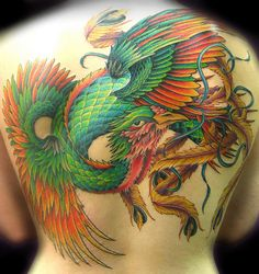 Phoenix tattoo designs with a deep symbolic meaning - Page 12 of 30