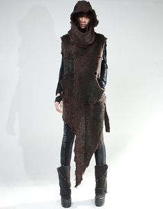 Demoboza. Post-apocalypse clothing / fashion / post-apocalyptic wear / dystopian / looks / style / looks elven