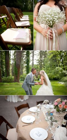 Grass Valley Wedding by Acres of Hope Photography - Style Me Pretty
