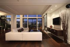 55+ Modern Interior Design Ideas for Living Rooms - Interior Paint Color Trends Check more at http://www.soarority.com/modern-interior-design-ideas-for-living-rooms/