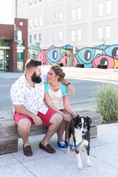 Norfolk Arts District Engagement Session by Jessica Ryan Photography