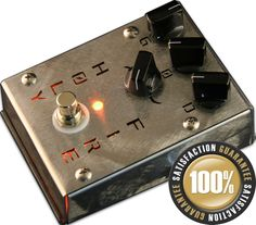 Holy Fire Distortion/Overdrive guitar pedal by Creation Audio.  Killah!