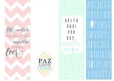Miss Agenda Limón: DIY Marcapáginas imprimibles y gratuitos   Read Infinity Creative Bookmarks, Bookmarks Kids, Printable Paper, Printable Planner Stickers, Printables, Pink Pages, Rune Tattoo, Bookmark Printing, Book Markers