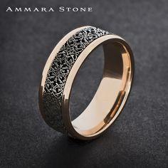 Men's band style = Leveled up!  #ammarastone #fashion #weddingband #picoftheday #mensfashion #menstyle
