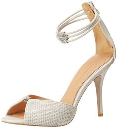 Badgley Mischka Women's Kandyce Dress Sandal,Off White,7 M US Badgley Mischka http://www.amazon.com/dp/B00HF5JIO2/ref=cm_sw_r_pi_dp_11dPtb0V5X2ZEX73