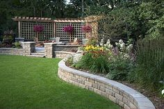 backyard designs – Gardening Ideas, Tips & Techniques Small Garden Landscape, Small Space Gardening, Landscape Design, Garden Design, Colorado Landscaping, Outdoor Landscaping, Cozy Backyard, Backyard Playground, Back Gardens