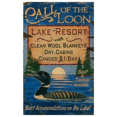 I pinned this Call of the Loon Sign from the Adirondack Cabin event at Joss and Main. Reminds me of wonderful summer weeks at Pyramid Lake, Paradox, NY.