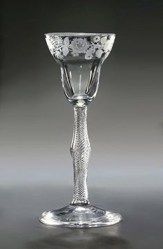 Top Air, Flower Center, Passion Flower, Art Furniture, Lily Of The Valley, Wine Glass, 18th, Objects, Ford