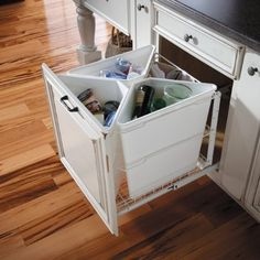 Kitchen Cabinets recycling cabinet drawer