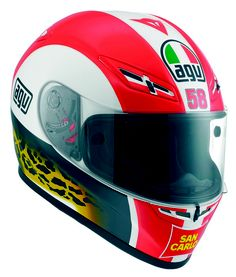 AGV Dainese Simoncelli Tribute Helmet