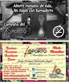 #FumadorPasivo Ahorre minutos De Vida, No Hable Con Fumadores #NoSmoking #NoFume #passivesmoking #vietatofumare #Dead #Muerte #Fumar