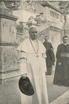 St.Pius X pray for the church, and in particular the pope.