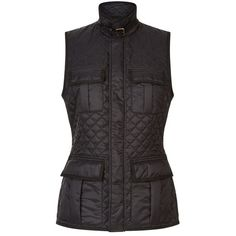 Polo Ralph Lauren Richdale Quilted Gilet (£235) ❤ liked on Polyvore featuring outerwear, vests, polo ralph lauren vest, pocket vest, gilet vest, quilted vests and polo ralph lauren
