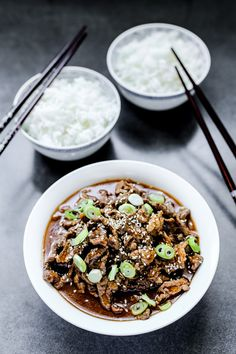 Korean Style Spicy Beef