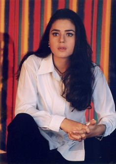 Throw back photo of Pretty zinta Bollywood Stars, Bollywood Images, Vintage Bollywood, Bollywood Girls, Bollywood Celebrities, Bollywood Fashion, Indian Bollywood Actress, Indian Actresses, Actors & Actresses