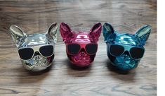 *NEW COLORS Frenchie World® Bluetooth Speakers