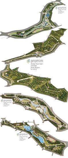 Antep Yesil Vadi Preliminary Projects by bearsign.deviantart.com on @deviantART #landarch #urbandesign