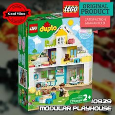 LEGO 10929 Modular Playhouse DUPLO Mainan Rumah Anak Original #thekingbricks #theking #thekingid #kingbricks #gvonline #uhappyihappy #tokolegoterpercaya #tokomainanoriginal #lego10929 Lego Duplo Sets, Lego City, Lego Star Wars, Play Houses, Avengers, The Avengers, Dollhouses