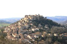 Cordes sur ciel, pretty medievel village but the walk to the top can be difficult! Beautiful Places In The World, Places Around The World, Around The Worlds, Albigensian Crusade, France, Place Of Worship, Pilgrimage, Provence, Grand Canyon