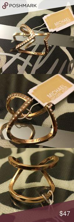 Michael Kors Ring Michael Kors GLAM Ring Size 6 Michael Kors Jewelry Rings