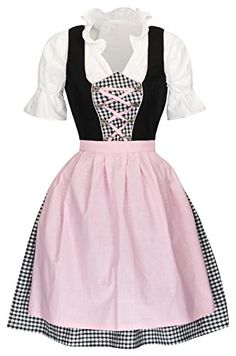 Skater Skirt, Apron, Skirts, Fashion, Pink, Oktoberfest, Clothing, Pinafore Apron, Skirt