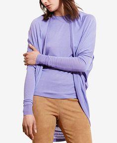 21a5898b17ac1 Lauren Ralph Lauren Open-Front Cardigan Women - Sweaters - Macy s