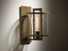 KLOS SCONCE designed by Kevin Reilly #design @John Appleget @Open Design by Penelope @Holly Elkins HUNT DESIGN