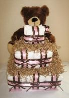 Diaper Cakes For Baby Showers Orange County CA Baby Shower Gifts Baby Shower Cake