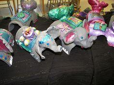 Bottle elephants by Paintbrush Rocket, via Flickr