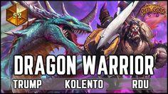 HEARTHSTONE DRAGON WARRIOR DECK feat Trump, Kolento, Rdu