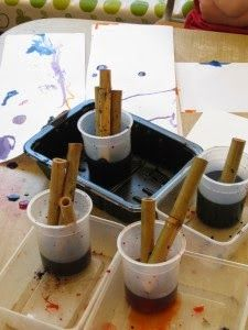 Brilliant open-ended ideas for using bamboo #earlyyears